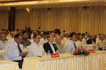 Ông Nguyễn Ngọc Quang - Bí thư tỉnh và Ông Đinh Văn Thu - Chủ tịch UBND Tỉnh